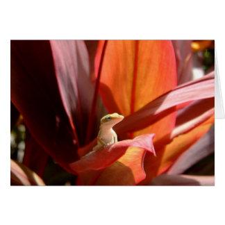 Kauai Lizard Card