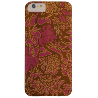 Kauai Morning Hawaiian Protea Faux Wood Floral Barely There iPhone 6 Plus Case