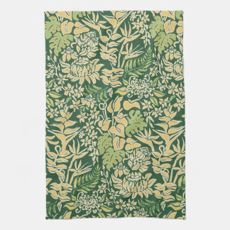 Kauai Morning Hawaiian Protea Floral Tea Towel