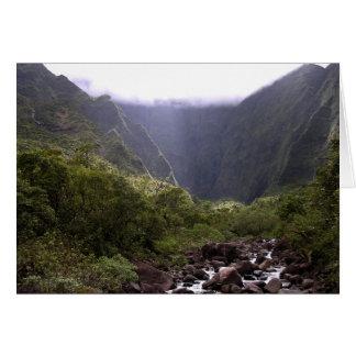 Kauai Mountain Card