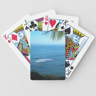 Kauai Ocean Bicycle Playing Cards