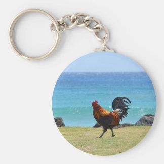 Kauai rooster keychains