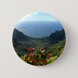 Kauai's Na Pali Coast 6 Cm Round Badge