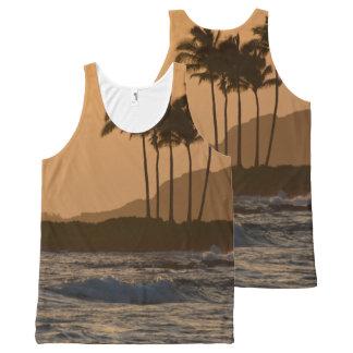 Kauai Sunset All-Over Print Tank Top