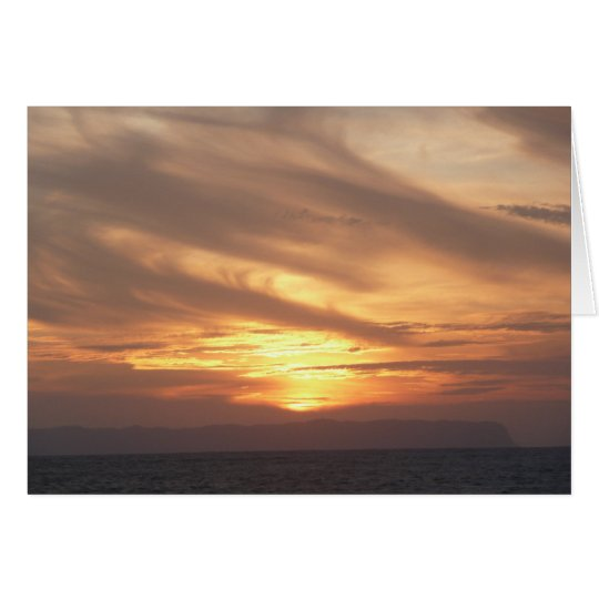 KAUAI SUNSET-Blank Note Card
