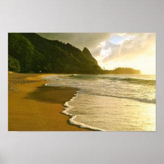 Kauai Surf Co. Haena Beach Poster