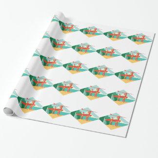 Kauai Surfers Wrapping Paper