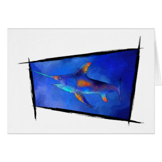 Kauderon V1 - Beautiful Swordfish Card