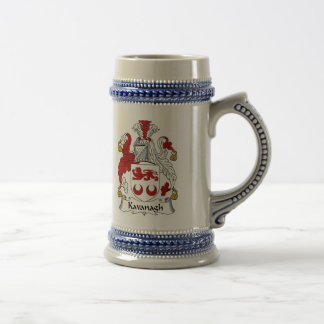 Kavanagh Coat of Arms Stein - Family Crest Beer Steins