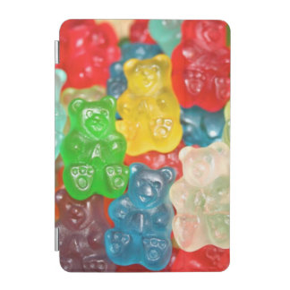Kawai gummibears cute trendy girly kids fun colors iPad mini cover
