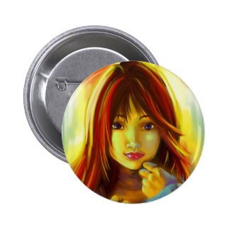 Kawai japan girl badge