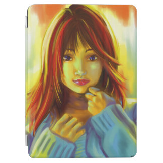 Kawai japan girl cover iPad air cover