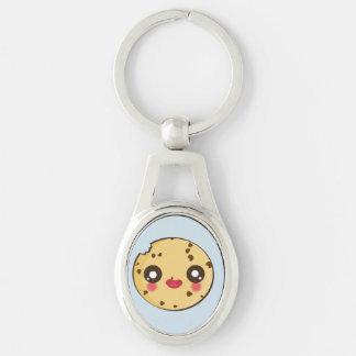 Kawaii and funny cookie keychain