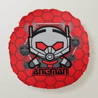 Kawaii Ant-Man Graphic Round Cushion