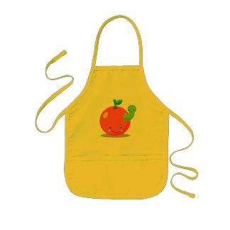 kawaii apple apron