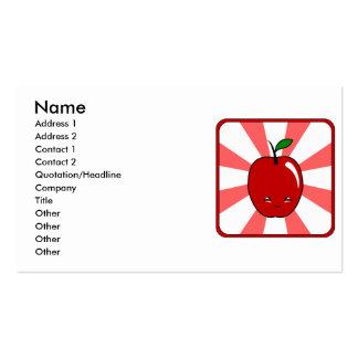 Kawaii Apple (Boy) Business Cards