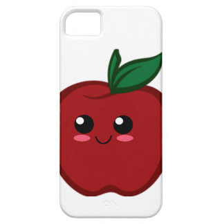 Kawaii apple design on a iPhone case