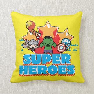 Kawaii Avenger Super Heroes Graphic Cushion
