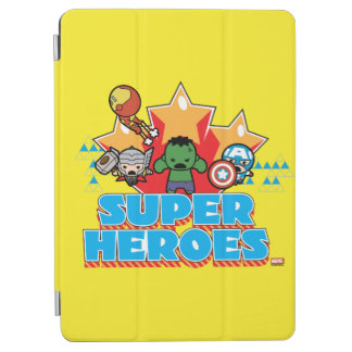 Kawaii Avenger Super Heroes Graphic iPad Air Cover