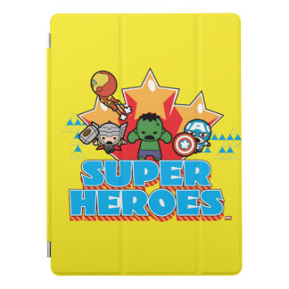 Kawaii Avenger Super Heroes Graphic iPad Pro Cover
