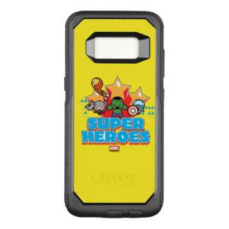 Kawaii Avenger Super Heroes Graphic OtterBox Commuter Samsung Galaxy S8 Case
