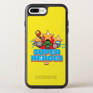 Kawaii Avenger Super Heroes Graphic OtterBox Symmetry iPhone 8 Plus/7 Plus Case