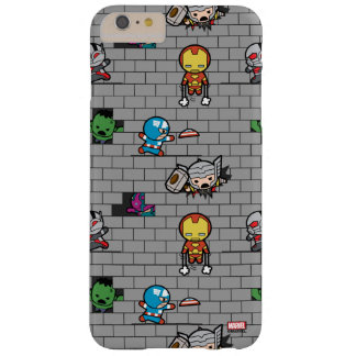 Kawaii Avengers Brick Wall Pattern Barely There iPhone 6 Plus Case