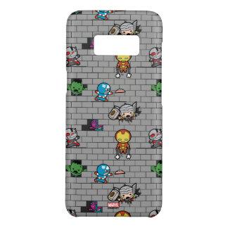 Kawaii Avengers Brick Wall Pattern Case-Mate Samsung Galaxy S8 Case