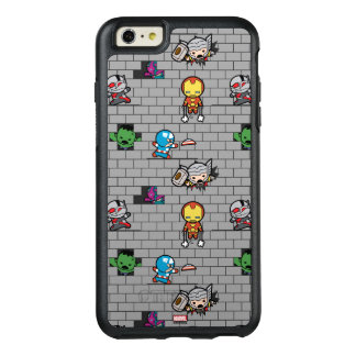 Kawaii Avengers Brick Wall Pattern OtterBox iPhone 6/6s Plus Case