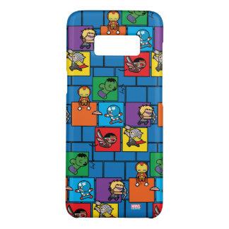 Kawaii Avengers In Colorful Blocks Case-Mate Samsung Galaxy S8 Case