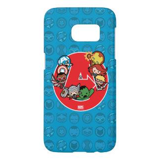 Kawaii Avengers Inside A-Logo