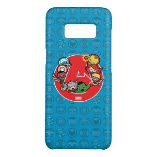 Kawaii Avengers Inside A-Logo Case-Mate Samsung Galaxy S8 Case