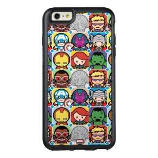 Kawaii Avengers Vs Ultron Pattern OtterBox iPhone 6/6s Plus Case