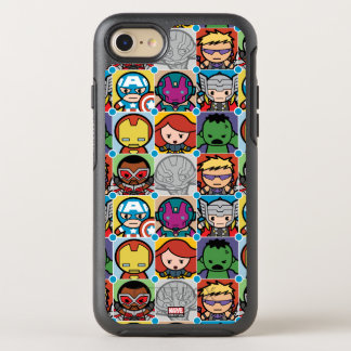 Kawaii Avengers Vs Ultron Pattern OtterBox Symmetry iPhone 8/7 Case