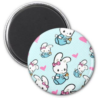 Kawaii Baby Bunny rabbit Magnet