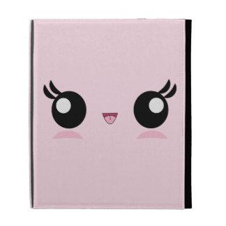 Kawaii Baby Face iPad case