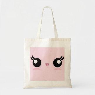 Kawaii Baby Face tote bag