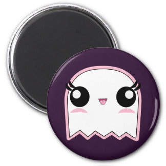 Kawaii Baby Ghost Halloween 6 Cm Round Magnet