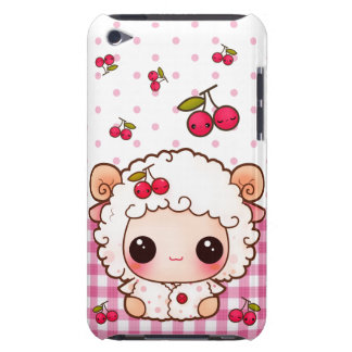 Kawaii baby sheep and cute cherries iPod touch cover
