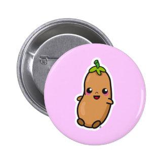 Kawaii Bean button