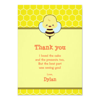 Kawaii Bee Card