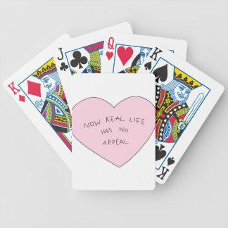 kawaii bicycle playing cards