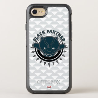 Kawaii Black Panther Logo OtterBox Symmetry iPhone 8/7 Case