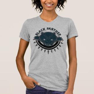 Kawaii Black Panther Logo T-Shirt