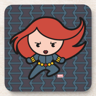 Kawaii Black Widow Dash Coaster