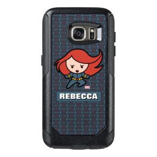 Kawaii Black Widow Dash OtterBox Samsung Galaxy S7 Case
