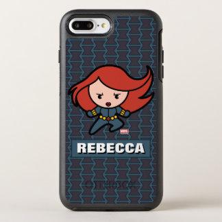Kawaii Black Widow Dash OtterBox Symmetry iPhone 8 Plus/7 Plus Case