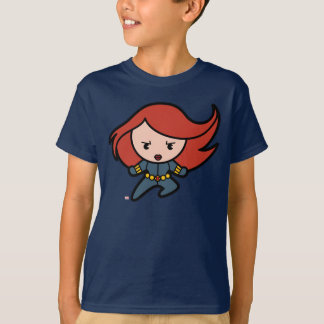 Kawaii Black Widow Dash T-Shirt