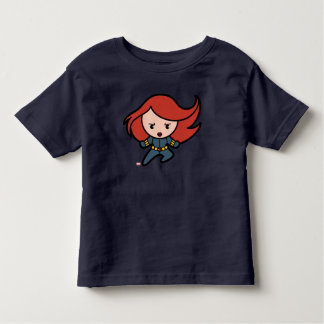 Kawaii Black Widow Dash Toddler T-Shirt