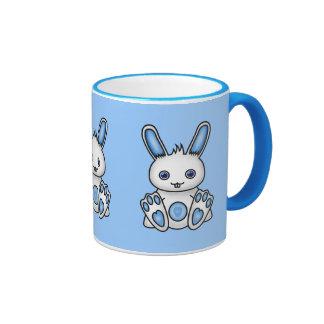 Kawaii Blue Bunny Mugs